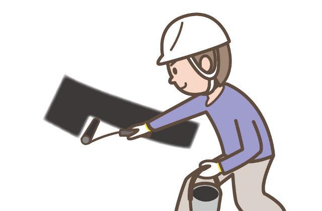 断熱塗料による塗装屋根塗装は暑さ対策にも活躍